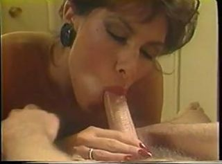 Mature blonde sucks on a big white cock in her mouth and gets fucked in retro _: vintage blowjobs milfs brunettes tits