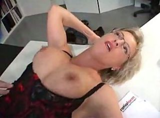 Mature Secretary fuckin manager on office _: blondes cumshots matures