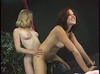 Alexis and Miss Meadow on the Sybian by snahbrandy _: masturbation toys teens