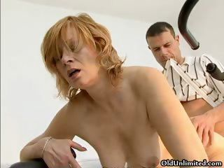 Horny housewife going crazy r...