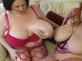 Unbarred In A Threesome. _: bbw big boobs tits