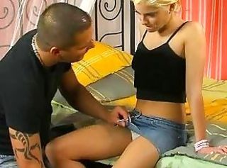 Blonde First Time Teen Virgin