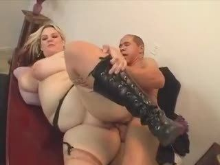 BBW fucked in the office...