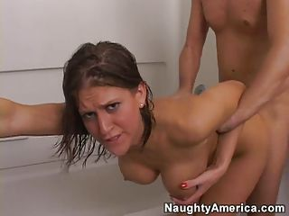Eve Lawrence getting pounded ...