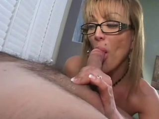 Milf in Glasses Blowjob...