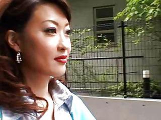 Asian MILF Outdoor