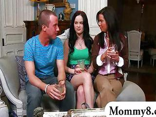 MILF Teen Threesome