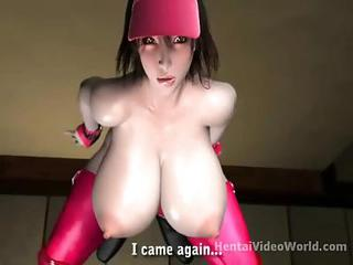 Giant Tits On Fucked 3d Slut