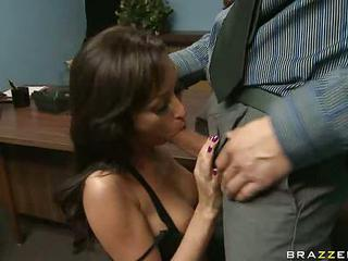 Breanne Benson Takes A Juicy Stiff Schlong In Her Deep Warm Mouth