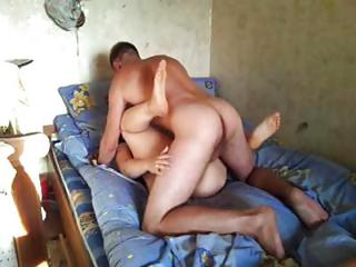 Amateur Mature Russian Couple Trades Oral And Then Bang On Film