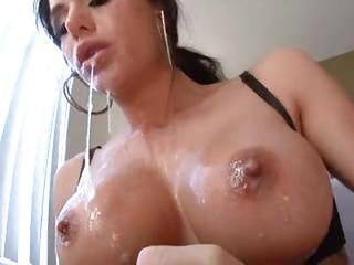 Spit Filled Deepthroat Bj With Brunette Slut