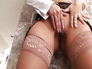 Ass Close up Masturbating Pussy Stockings