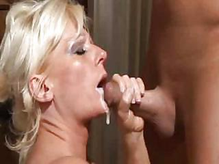 Cumshot European German Mature Swallow