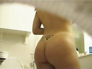 Hidden Cam,  Spycam,  Spying,  Bathroom,  Teen,  Tit...