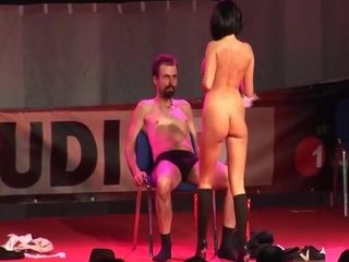 Big-Titted stripper fucking the...