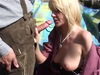 Mountain shag fest blonde fucking