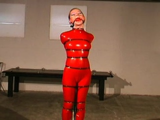 BDSM Bondage Latex Tonåring