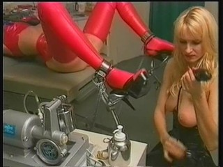 Bdsm Blonde Latex MILF