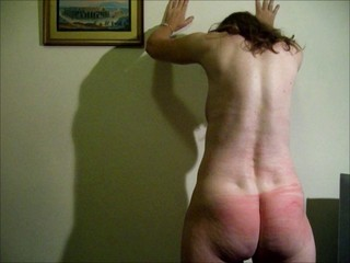 Nude Wife Flogged on Tits, Buttocks and Back