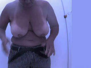 Beach Big Tits Mature SaggyTits