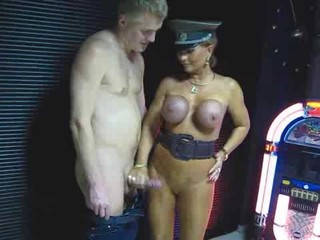 Big Tits Handjob MILF Outdoor Silicone Tits Uniform