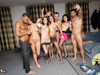 Orgy at insane students xxx party
