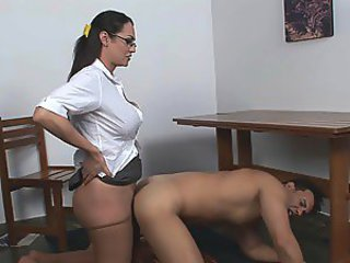 Rabeche&Sena shemale and pussyguy on video