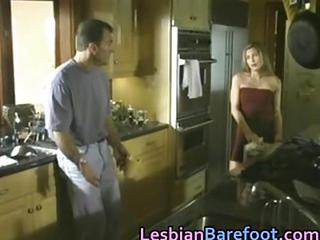 Blonde Kitchen MILF Young