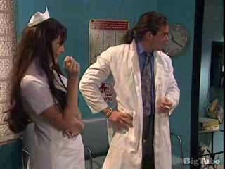 Doctor Long hair MILF Nurse Uniform