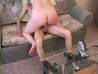 Amateur Homemade Mom Riding Russian