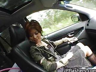 Asian Car MILF