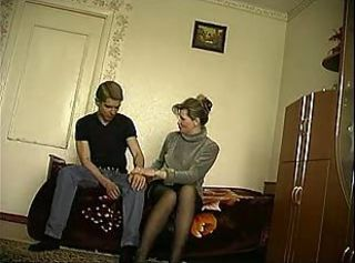 Russian Mother & Son