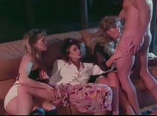 Peter North with Christy Canyon,Jennifer Stewart,P.J. Sparxx