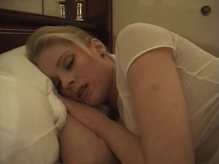 Blonde MILF Pornstar Sleeping