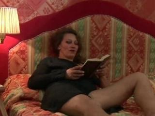 Brunette European Italian Mature Mom