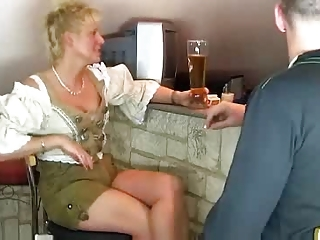 Blonde Drunk MILF