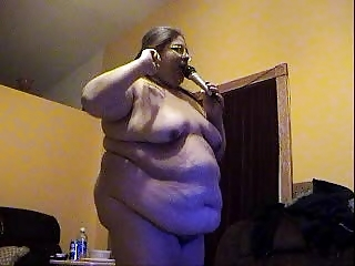 Bbwalmy Fat Whore In Slow Motion