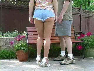Amazing Ass Jeans Outdoor