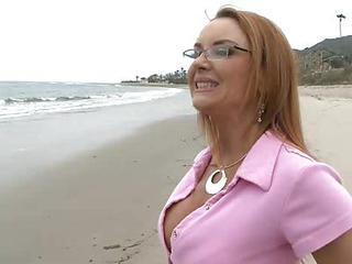 Beach Blonde Glasses Mom