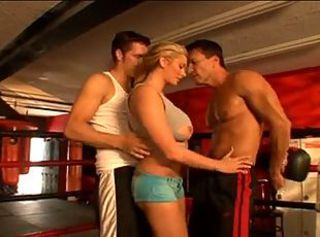 Briana B - Full body workout _: anal big boobs blondes double penetration threesomes