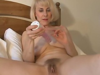 Sweet Mom Hazel May Plays With...