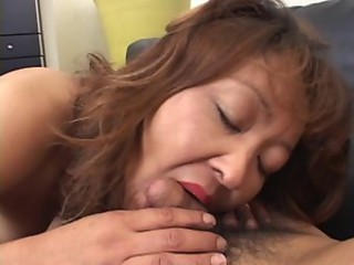 Mature japanese mommy needs meat...