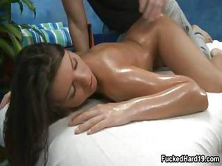Teen Brunette With Big Tits Gets