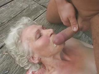 Granny Norma Fucks And Sucks Out...
