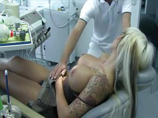 Big Tits Doctor Silicone Tits Sleeping Tattoo