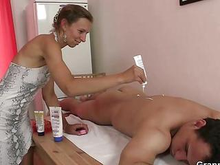 Granny Massage Mature Old and Young