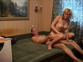 Amateur Daddy Daughter Homemade Old and Young Riding Russian Teen