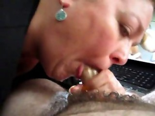 Hot Wet Afternoon Blowjob