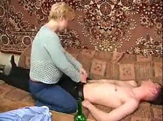Mother Seduced Drunk Son