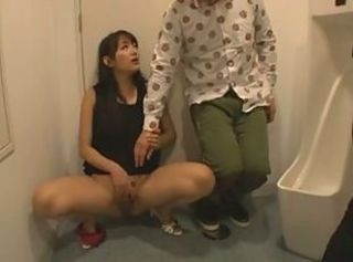 Asian Masturbating Teen Toilet